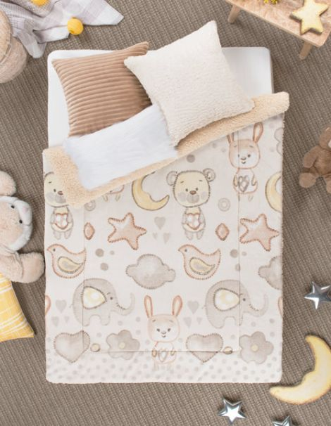 Cobertor Infantil Amiguitos