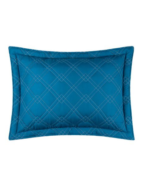 Funda de Almohada Azul-Azul