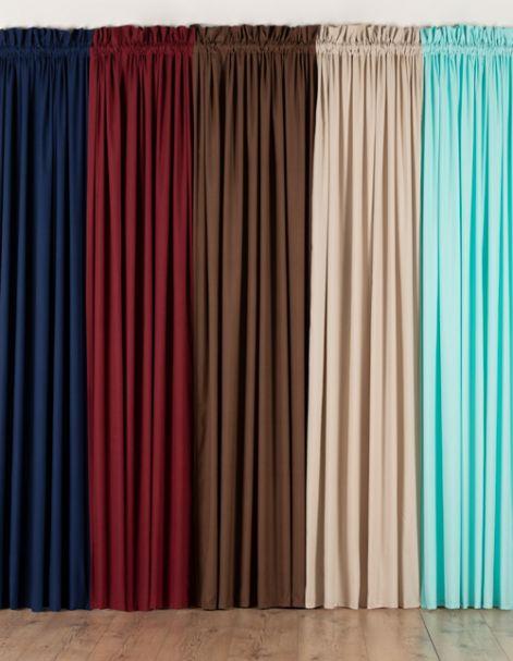 Cortinas Lisas Real Textil