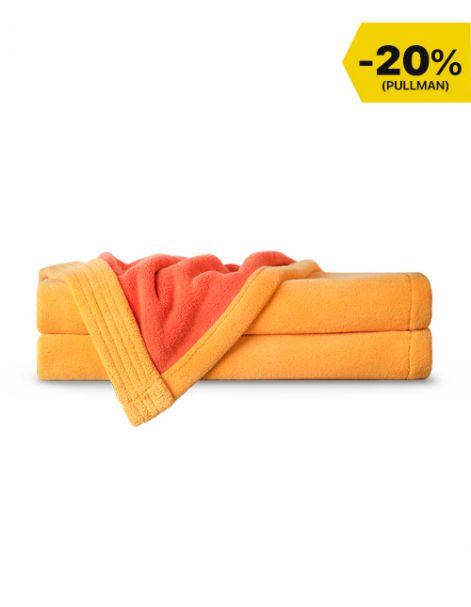 Toallas Ultra Absorbentes Doble Vista Amarillo-Naranja